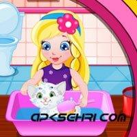 Bebek Sofya Beyaz Kedi